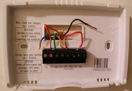 honeywell non programmable thermostat wiring diagram
