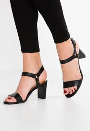 lauren ralph harri sandals black women shoes strappy l4211i000