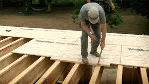 how to install a subfloor homebuilding