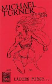 michael turner sketchbook volume comic vine