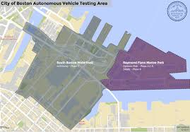 Map Of Boston Area Autonomous Vehicles Boston U0027s Approach Boston Gov