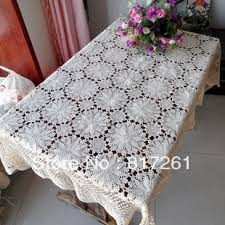 Lace Table Overlays Aliexpress Com Buy Free Shipping White Flowers Decoration Lace