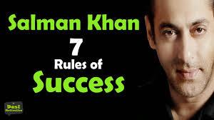 salman khan biography in hindi language salman khan 7 rules of success hindi motivational speech