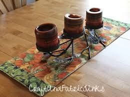 free table runner sewing pattern