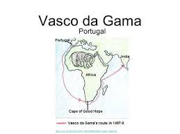 Vasco Da Gama Route Map by The Mighty Explorers Vasco Da Gama Portugal Ppt Download