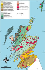 Map Scotland Geological Expedition Along The Southwest Coast Of Scotland
