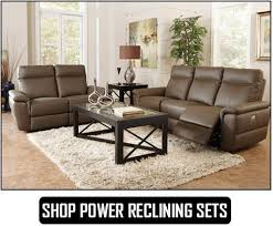 Brown Leather Recliner Sofa Set Reclining Sofa Sets Dallas Ft Worth Irving More Savvy