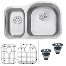 Round Kitchen Sink by Ruvati Rvm4405 Undermount 16 Gauge 32