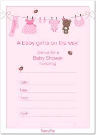 What Is Rsvp On Invitation Card Amazon Com Books For Baby Shower Request Cards Pink Theme