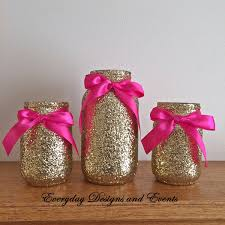 mason jars rose gold baby shower ideas baby shower