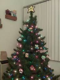 super mario bros perler bead star christmas tree topper 20 00