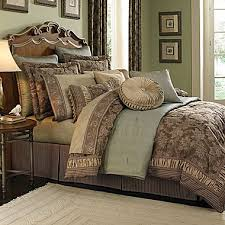 Burgundy And Brown Comforter Set Croscill Classics Mont Claire Comforter Set U0026 More Jcpenney