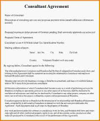 consulting agreement independent consultant agreement sample