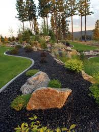 Colored Rocks For Garden Colored Rocks Lanedscaping Ideas Photos Houzz