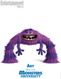monsters university u0027 character posters bios voice cast revealed