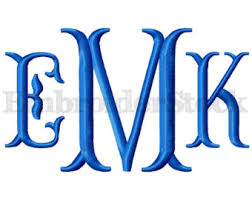 initial fonts for monogram fishtail monogram font monogram machine embroidery font design
