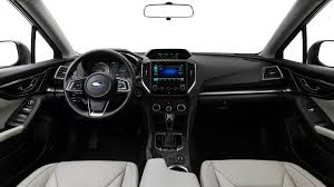 2017 subaru impreza hatchback black subaru impreza among wards ten best interiors the drive