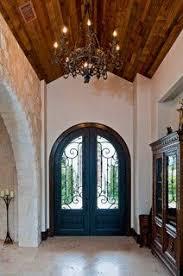 santa barbara style in austin mediterranean entry austin