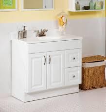 Bathroom Gray Double Sink Vanity Vanity Top Cabinet 36 Inch