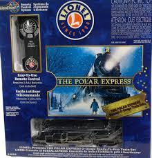 lionel o polar express o remote set 6 30218 trains on