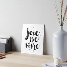 quote home country joie de vivre french decor french quote dorm room decor home