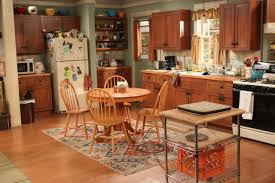 design kitchen set on set with cbs u0027s u0027mom u0027 hgtv