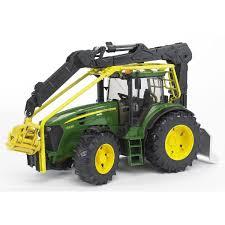 bruder farm toys bruder toys john deere 7930 forestry tractor 1 16 scale 09809