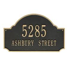 address plaques house signs