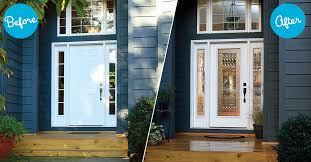 Exterior Doors Glass How To Add Glass Inserts To Exterior Doors Diy Guide Zabitat