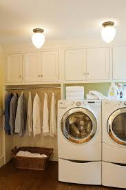 home laundry room cabinets laundry room cabinets with clothes rod decor design