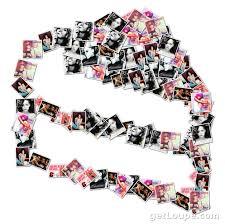 Rihanna Birthday Cake Loupe Collage Loupe