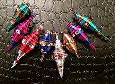 plumb bobs rolled paper christmas ornaments christmas ornament