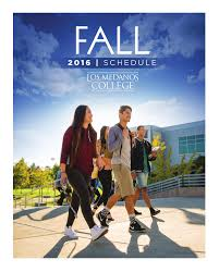 2016 fall class schedule by los medanos college issuu