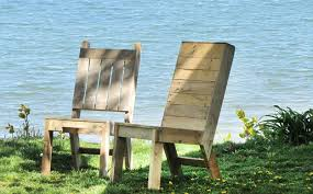 Building Outdoor Furniture What Wood To Use by Reclaimed Pallet Wood