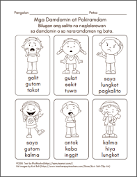 filipino worksheets samut samot