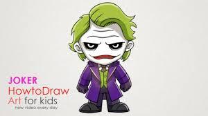 joker cartoon drawing how to draw a cartoon joker step by step