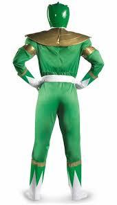 Power Ranger Halloween Costume Power Rangers Green Ranger Muscle Costume