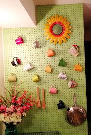kitchen pegboard ideas 13 best pegboard walls images on pinterest peg boards craft