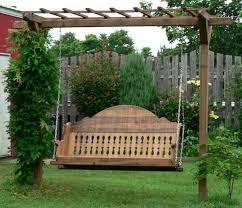 movable wooden swing porch design quecasita