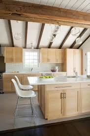 maple cabinets with white countertops see this house a huge hamptons hideaway wooden ceilings maple