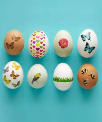 easter egg decorating tips no dye easter egg decorating ideas real simple