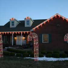 Outdoor Candy Cane Lights by Giant Candy Cane Lights Nashville Outdoor Lighting Perspectives