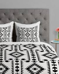 geometric pattern bedding geometric pattern black and white duvet cover