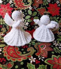 Christmas Angel Decorations Patterns by 60 Amazing Free Crochet Christmas Ornaments To Make