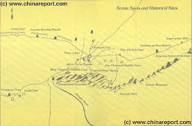 Map Of The Great Wall Of China by Gansu Province Great Wall Of China Maps Index By China Report