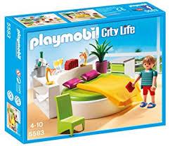 playmobil 5583 jeu de construction chambre avec lit rond