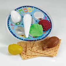 seder set deluxe passover plastic play seder set menorah