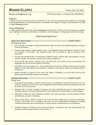 Good Nursing Resume Cover Letter Sample Of A Nurse Resume Sample Of A New Nurse Resume