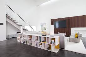 Tv Room Divider Houston Room Divider Bookcase Living Contemporary With Wall