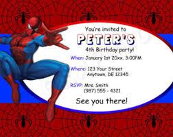 spiderman birthday invitations orionjurinform com